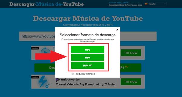 Come scaricare canzoni e musica da YouTube gratuitamente e senza programmi? Guida passo passo 3