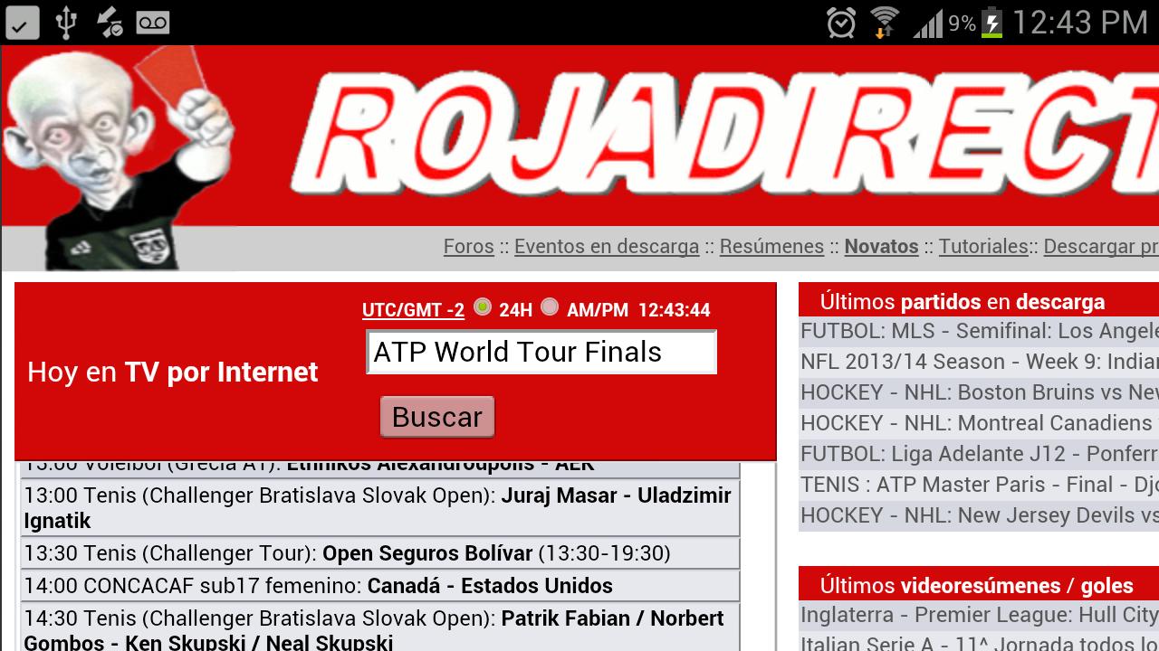 Come scaricare RojaDirecta gratuitamente su iOS e Android. Facile e veloce 1