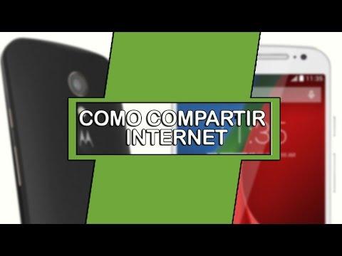 Come condividere Internet su telefoni Motorola 1