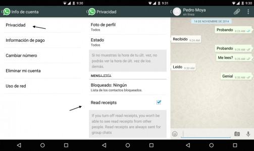 """Rimuovi """"Visto"""" da WhatsApp sui dispositivi Windows Phone 2"""