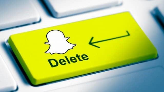 Come eliminare un account Snapchat 1