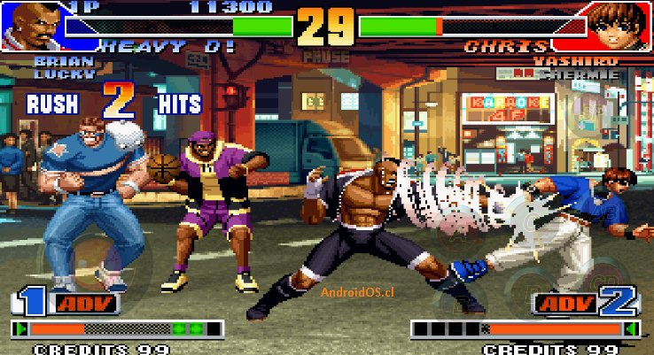 Come scaricare The King of Fighters per Android e Blackberry 5