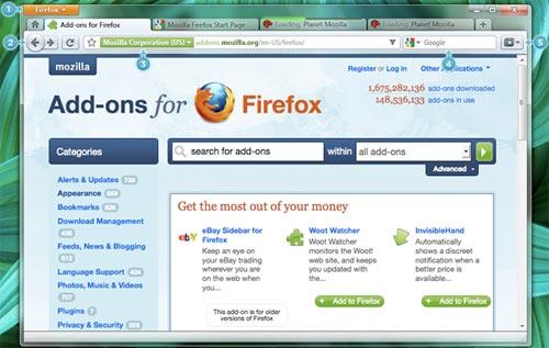 Con Firefox, la navigazione sul cellulare sarà pratica e veloce 2