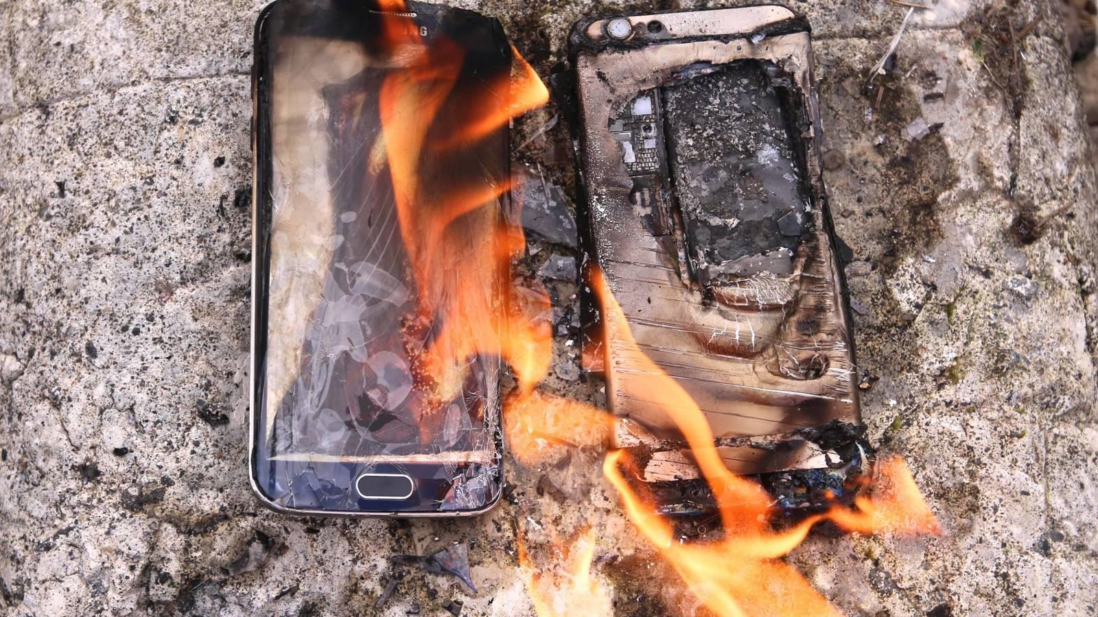 Telefoni Samsung che esplodono. Signori terra per terra! 2