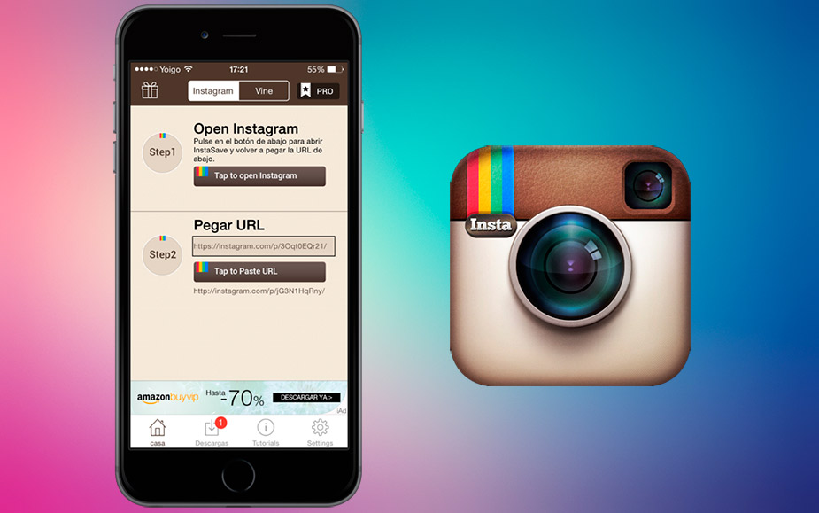 Scarica le foto di Instagram 2