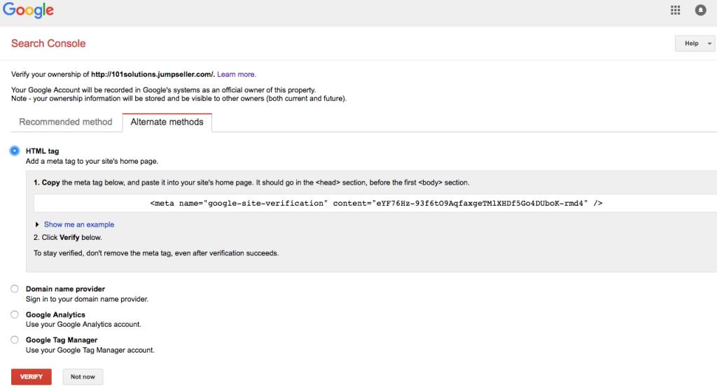 Come posizionare un sito Web con Meta Tag su Google? 1