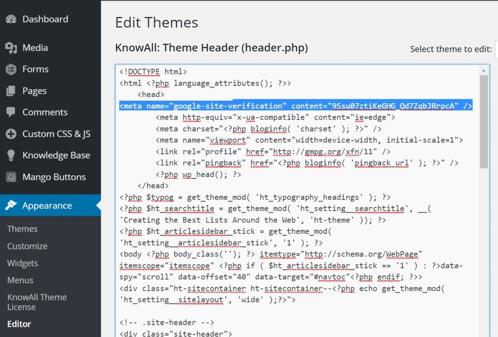 Come posizionare un sito Web con Meta Tag su Google? 2