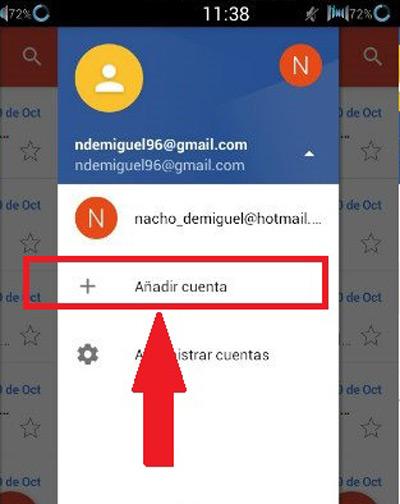 Come inserire Gmail con un altro account e aggiungere altri account e-mail per accedere? Guida passo passo 13