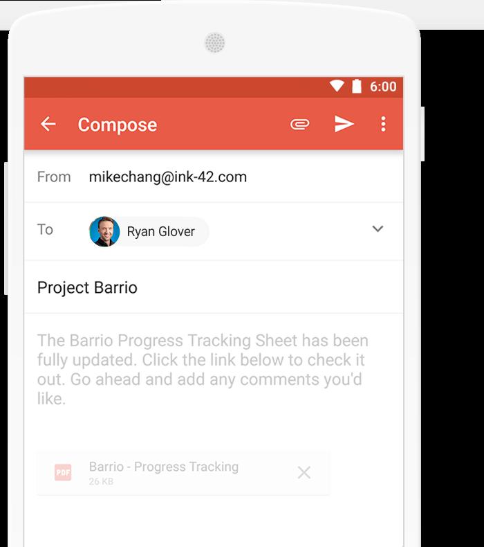 Non hai ancora l'ultima versione di Gmail? Scaricalo ora 2