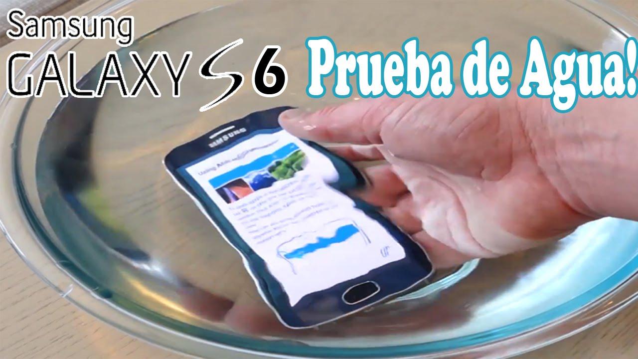 Il Samsung Galaxy S6 è resistente all'acqua? 1