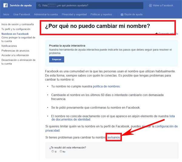 Come modificare il nome del mio account utente di Facebook? Guida passo passo 16