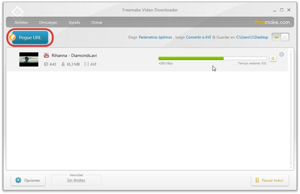 Video di alta qualità in formato MP4 2