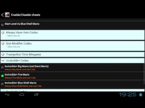 Come mettere trucchi in Drastic per Android 2