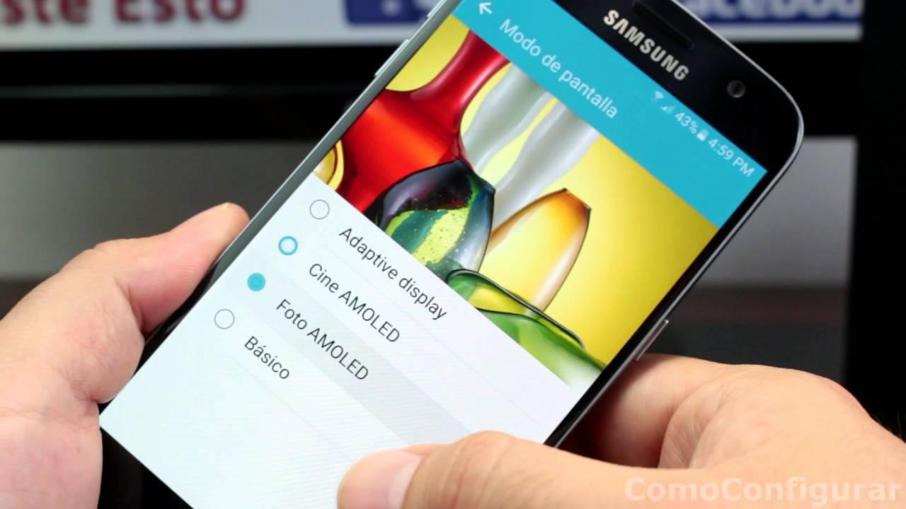 Come regolare i colori dello schermo del Samsung Galaxy S7, semplice e senza problemi 2