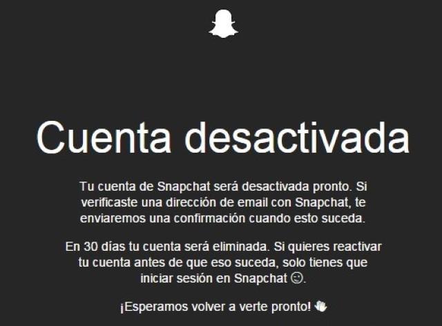 Come eliminare un account Snapchat 2