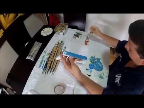 Come dipingere un telefono facile e veloce 2
