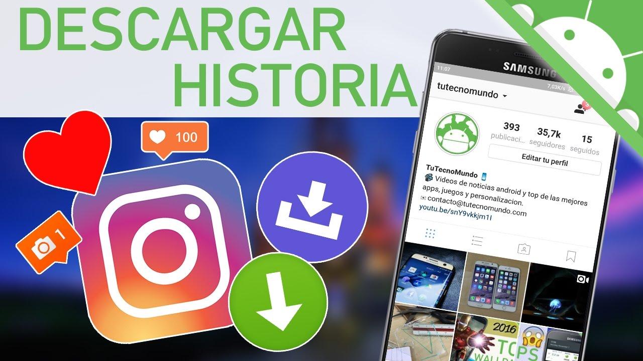 Así es como puedes descargar historias de Instagram 1