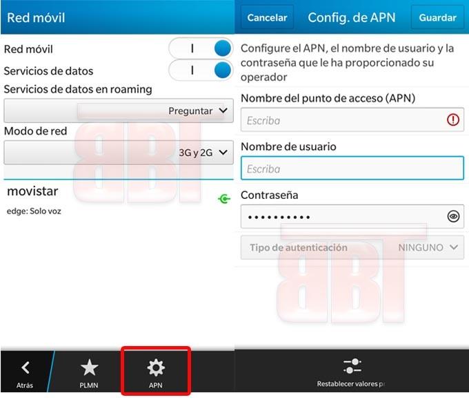Come configurare APN per Internet gratuito su Movistar 1