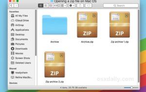 Come posso decomprimere i file Zip su Mac? GRATIS 8