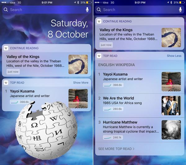 Quali sono i migliori widget per il tuo dispositivo Apple iPhone? Elenco 2019 37
