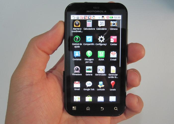 Come fare uno screenshot di Motorola Defy 2