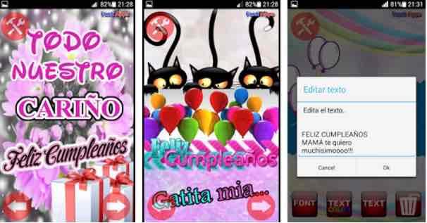 5 app per congratularmi con il compleanno per Android gratuitamente 1