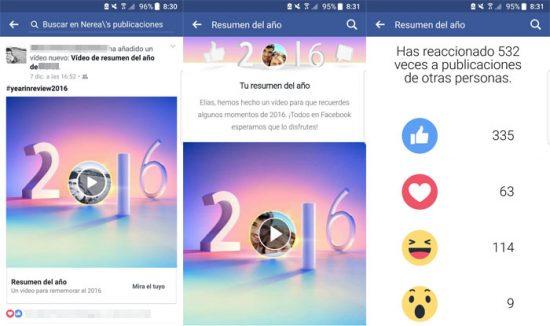 Come rendere molto semplice il riepilogo video dell'anno su Facebook 2