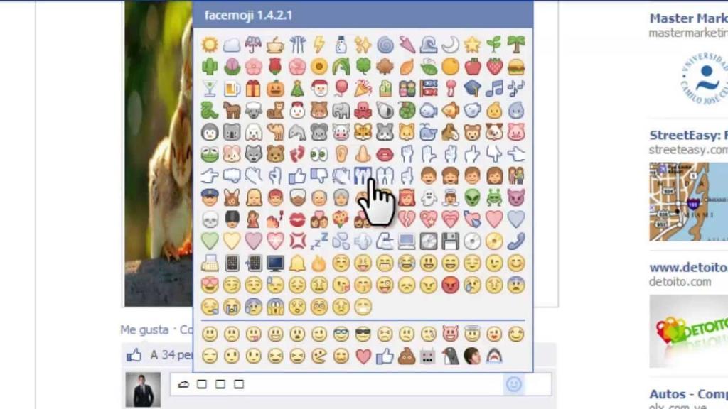 Come usare Emojis su Facebook o Messenger? Scoprilo qui 2