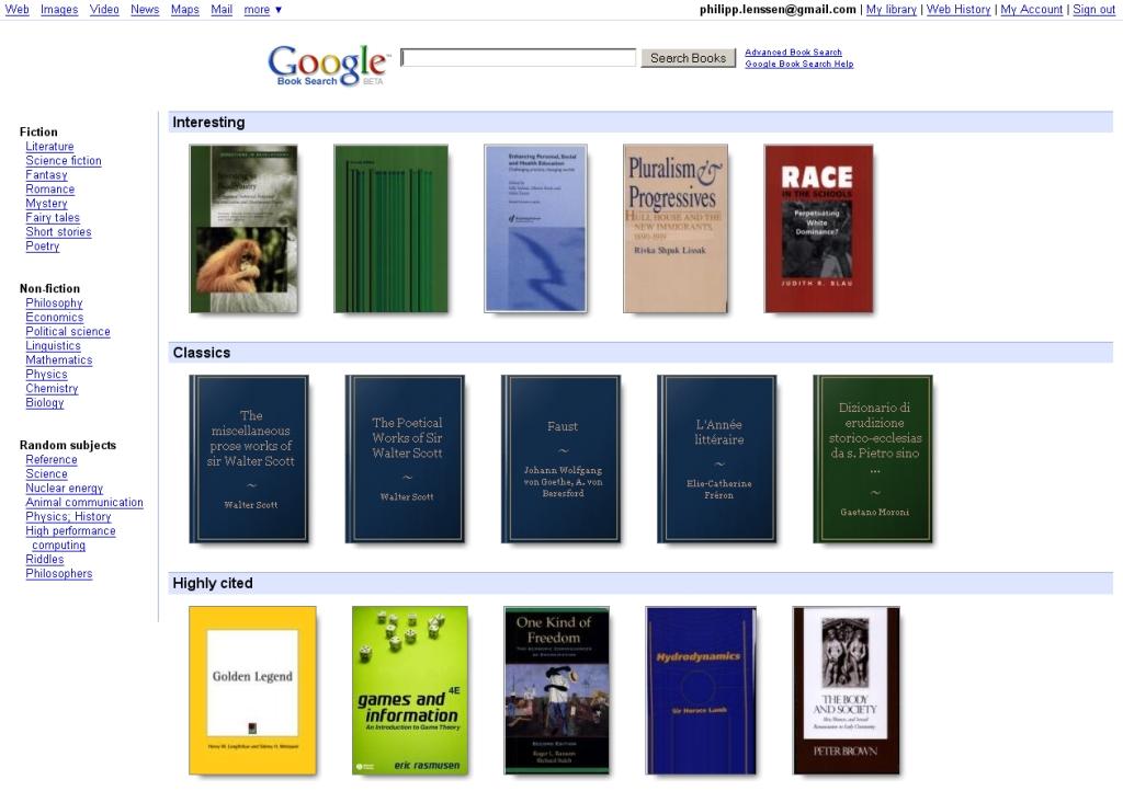 Come stampare libri di Google Book? 1