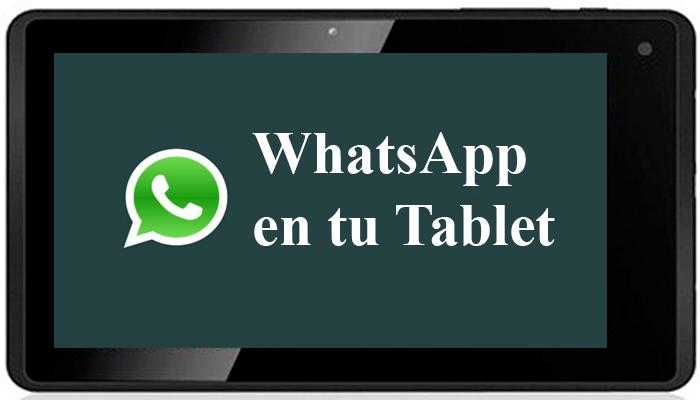 Scarica WhatsApp gratuito per tablet Android 1