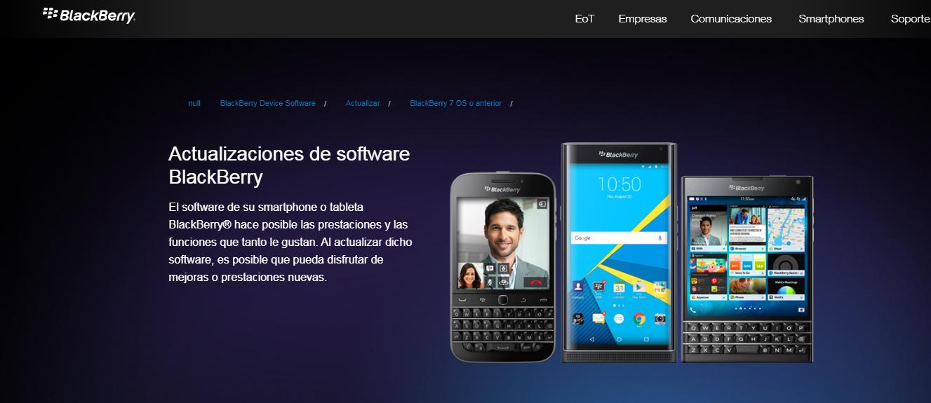 Come rinnovare il sistema operativo del tuo Blackberry? 2