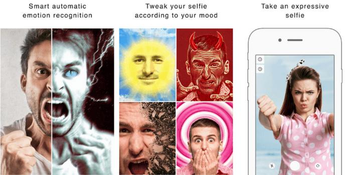 Crea gif divertenti da qualsiasi selfie con Emolfi 2