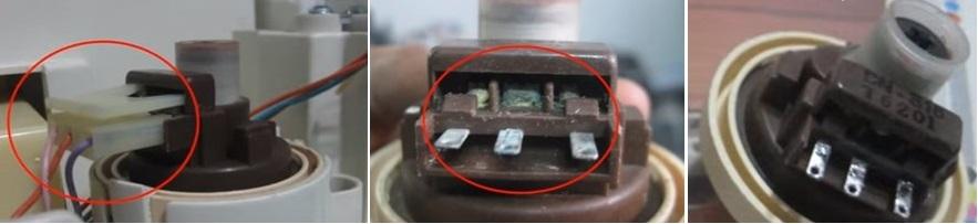 Come correggere l'errore 1E di una lavatrice Samsung 2