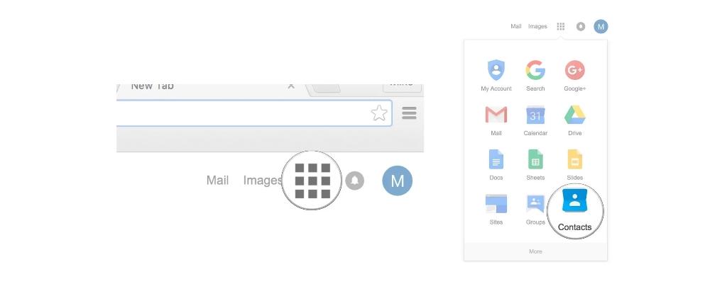 Come recuperare i contatti cancellati da Google? 1