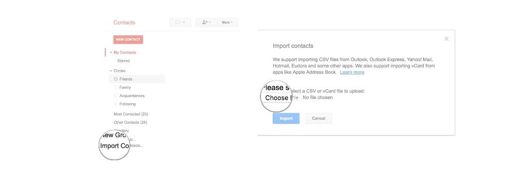 Come recuperare i contatti cancellati da Google? 2