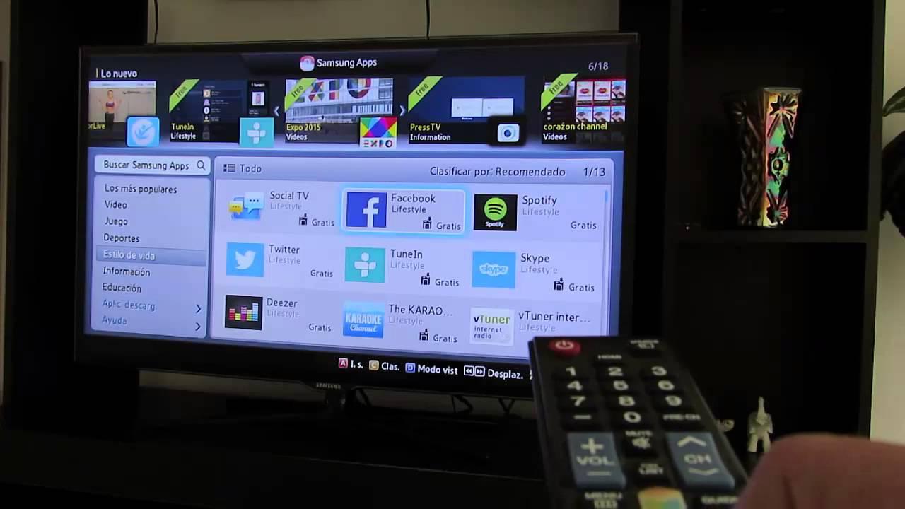 Scarica Facebook su una Smart TV 1
