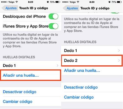 Come bloccare e sbloccare il mio telefono cellulare con l'impronta digitale? Guida passo passo 4