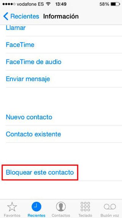 Come bloccare numeri di telefono e contatti su iPhone e non ricevere chiamate? Guida passo passo 5