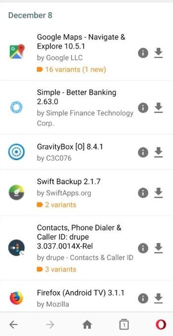 Quali sono le migliori alternative a Google Play Store per scaricare e installare migliaia di applicazioni su Android? Elenco 2019 4