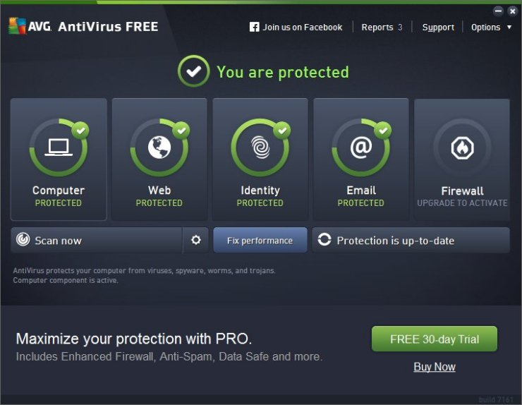 Scarica AVG AntiVirus Free 2016 1
