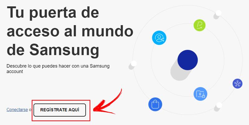 Come creare un account nelle app Samsung? Guida passo passo 1