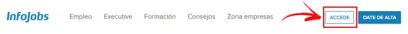 Come accedere a Infojobs in spagnolo facilmente e rapidamente? Guida passo passo 2