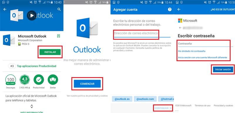 Come accedere a Microsoft Outlook in spagnolo in modo facile e veloce? Guida passo passo 5