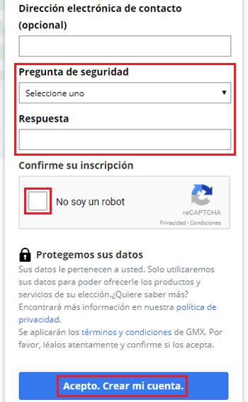 Come creare un account di posta elettronica GMX Mail gratuito? Guida passo passo 3