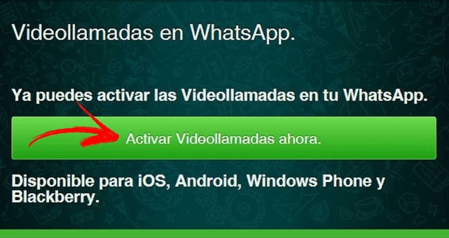 Come aggiornare e attivare le videochiamate in Whatsapp Messenger? Guida passo passo 1
