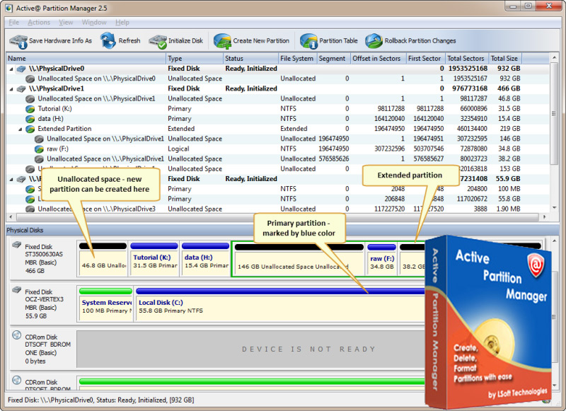 Quali sono i migliori programmi per creare e gestire partizioni del disco rigido su Windows e Mac? Elenco 2019 9