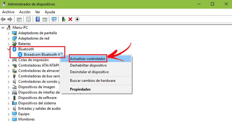 Come aggiornare i driver o i driver Bluetooth? Guida passo passo 2