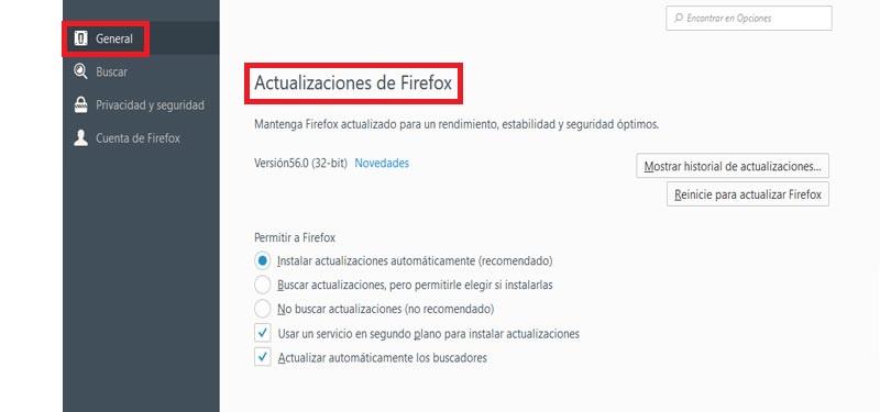 Come aggiornare Mozilla Firefox all'ultima versione gratuitamente e in spagnolo? Guida passo passo 6