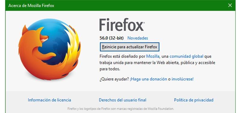 Come aggiornare Mozilla Firefox all'ultima versione gratuitamente e in spagnolo? Guida passo passo 2
