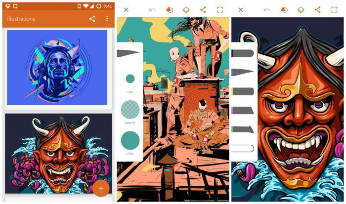 Scarica Adobe Illustrator Draw per Android. Crea splendide illustrazioni 2